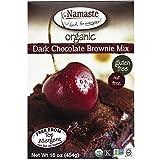Namaste Foods Gluten Free Organic Dark Chocolate Brownie Mix 16 Ounce