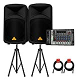 Best Behringer PA Systems - Behringer EUROPORT EPS500MP3 500-Watt 8-Channel Portable PA System Review