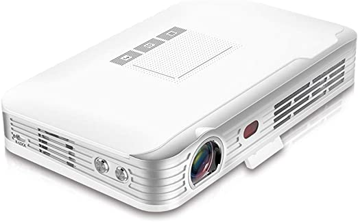 Proyector inalámbrico WIFI, proyector 3D HD con bolsa de ...