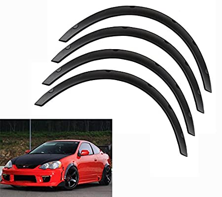 Ruien Universal Fender Flares Over Wide Body Wheel Arches 4pcs 2.75inch (70mm)