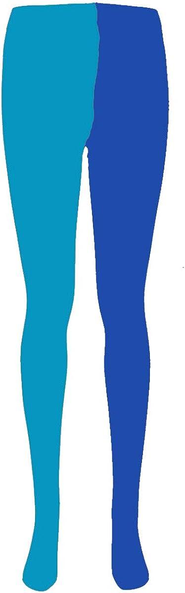 Greetuny 1pcs Dos tonos Pantys de colores Personalidad Pantimedias mujer Moda leggings Medias de compresion mujer Calcetines largos