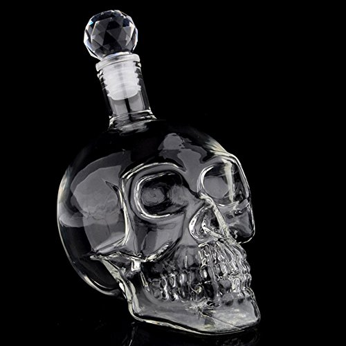 Witty Novelty Skull Decanter by Witty Novelty