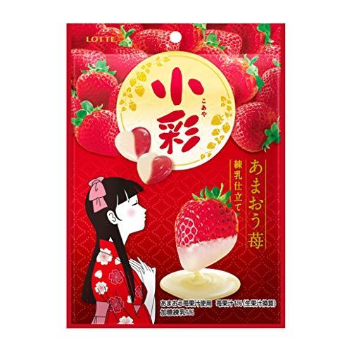 [겨울 한정] 롯데 코아야 딸기(연유) 60g ×10 포