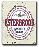 "ESTERBROOK Lager Beer Stretched Canvas Sign 24"" x 30"""