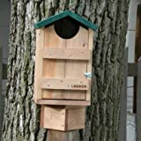 Looker HS08 10″W x 9″L x 15″H Screech Owl Bird House For Sale