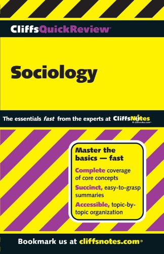 CliffsQuickReview Sociology (Cliffs Quick Review (Paperback))