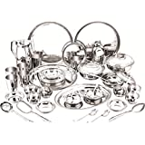 DeV Stainless Steel Dinner Set 31 Pcs Stainless Steel Dinner Set
