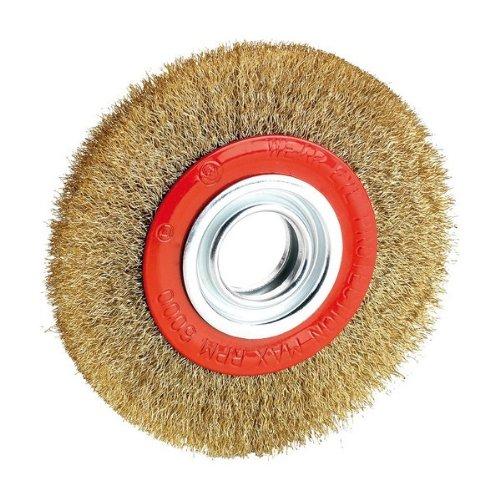 ALYCO 197604 - Cepillo metalico circular 175 mm para esmeriladora