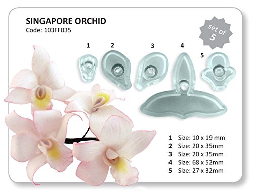 JEM Singapore Orchid Cutter Set of 5