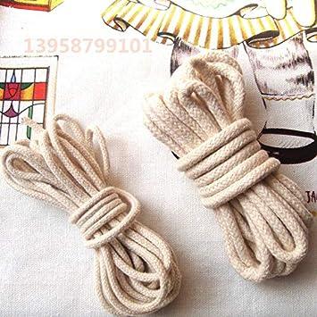 Amazon.com: Fincos - Cinta de algodón trenzado de 3/4/0.197 ...