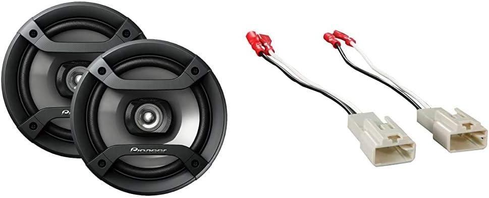 """Pioneer TS-F1634R 6.5"""" 2-Way Speaker Bundle"""