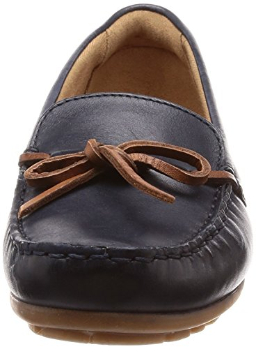 loafers Dameo Mocassins Clarks Femme Swing navy Noir Leather tqCwHpZ