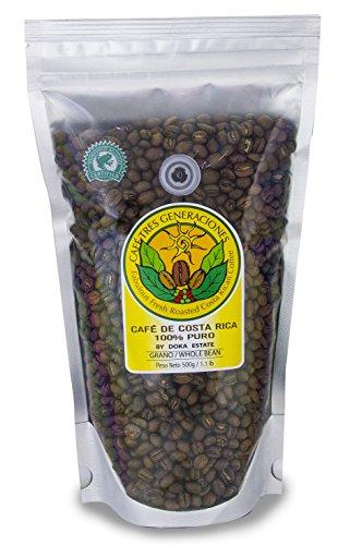 - Doka Peaberry Bean Costa Rica Coffee 500gr / 18 oz