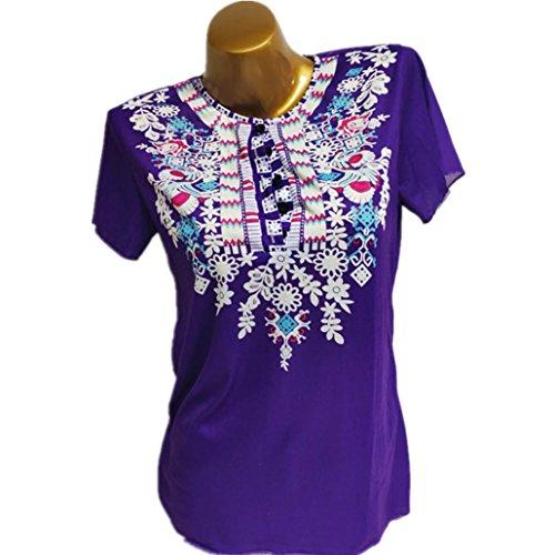 Femmes Nouveau Printemps T Casual Imprim 2018 Ourlet Tops Irrgulire Nouveau Cou zahuihuiM Volants Courtes O Shirt Automne Blouse Violet Manches Mode Iqd5Xw