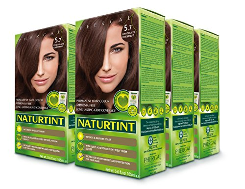 Naturtint Permanent Hair Color - 5.7 Chocolate Chestnut, 5.6 Fl Oz (6-pack) -