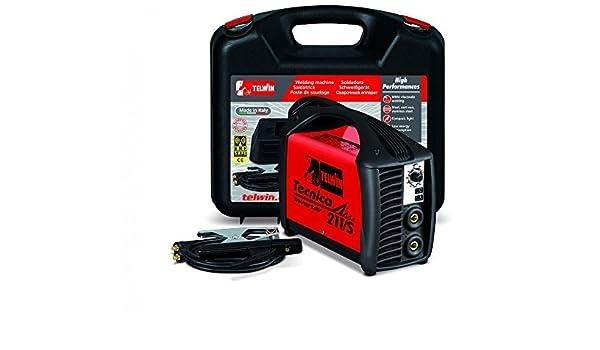 MMA Soldadura TIG tecnica 211/S Inverter 180 A DC + Kit MMA Telwin 816122: Amazon.es: Bricolaje y herramientas
