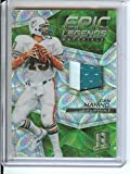 Spectra Football NFL 2017 Epic Legends Materials Neon Green #4 Dan Marino MEM 2/10 Dolphins