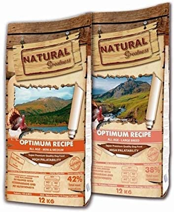 Natural Greatness - Receta Optimum Mini & Medium, Formato P/Kg - 2 ...