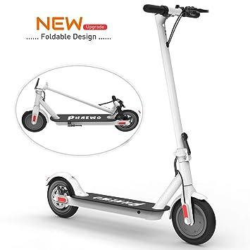 Scooter Eléctrico Para Adultos: Batería de 25.7 km de Larga Distancia, Neumáticos de 8.5