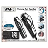 Wahl Chrome Pro Combo with Deluxe Nylon Storage Case (For Men)