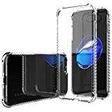 iPhone 8 Plus Case, LUVVITT [Clear Grip] Soft Slim Flexible TPU Back Cover Transparent Rubber Case for Apple iPhone 8 Plus (2017) - Clear