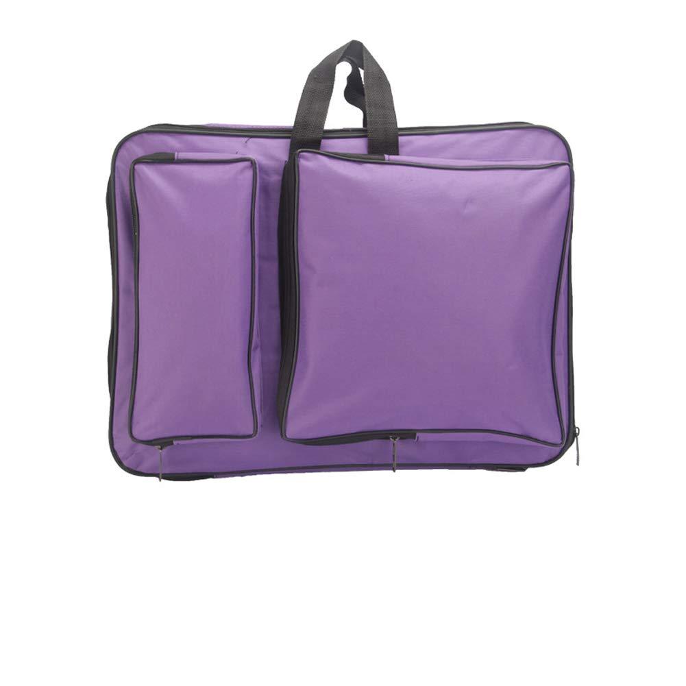 15 x 18.9 Inch 8k Art Portfolio Carry Bag Multipurpose Artist Portfolios Case Adjustable Shoulder Bag Tote Drawing Board Backpack with Pockets for Sketching Painting Art Supplies Storage Transport
