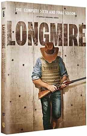 Longmire Season 6 dvd (2018 3-Discs set)