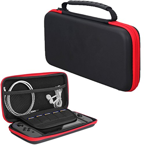 Nintendo Switch Case Hard Deluxe EVA Travel Carrying Case Game Traveler for Nintendo Switch Console & Small Electronics Accessories