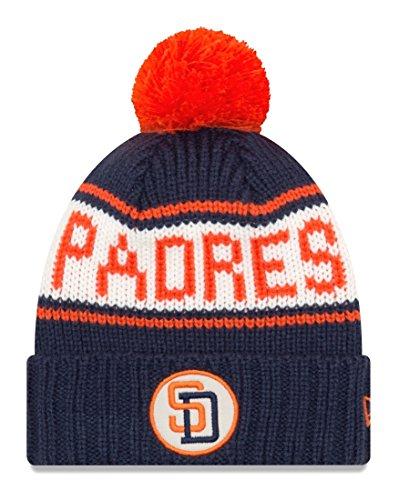 San Diego Padres New Era 9Twenty Cooperstown Retro Patch Cuffed Knit Hat - 1991
