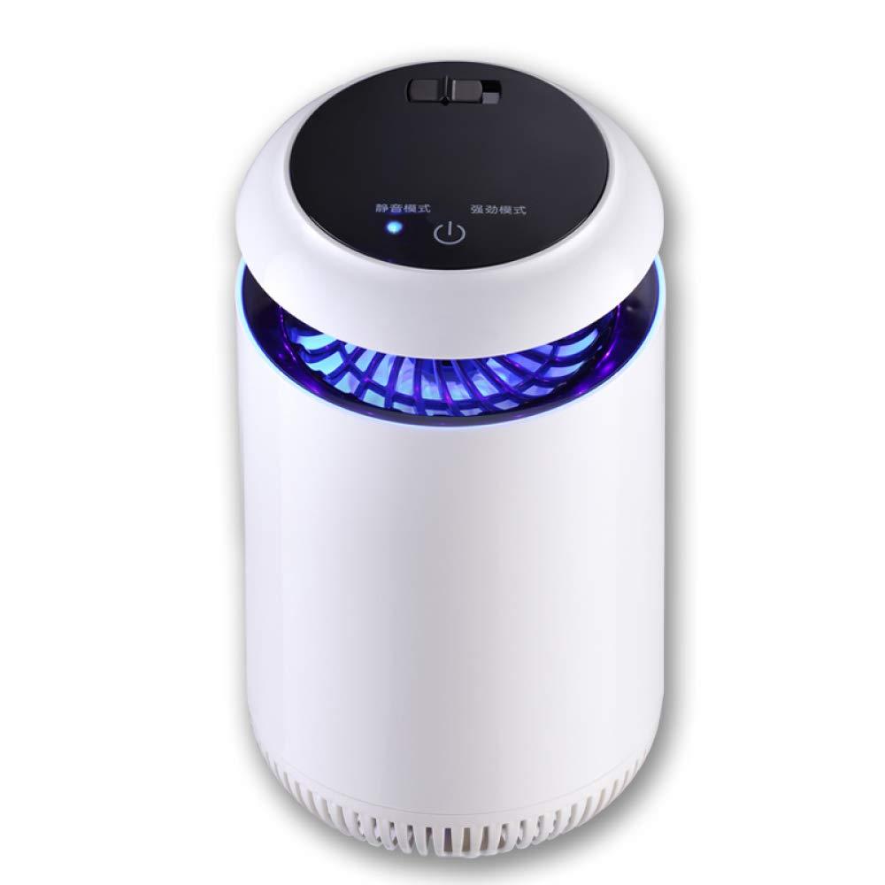 Mosquito Killer Lampe USB 5W Anti-Mosquito Lampe Startseite Ungiftig Strahlung Frei Tragbare Inhaler Mosquito Catcher,Weiß