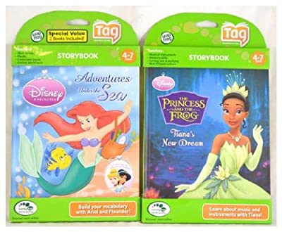 Leapfrog Bundle Tag Book 2-pack - Disney Princess And Princess And The Frog from LeapFrog