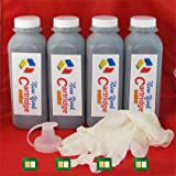 4 Hp Ce505a 05a Toner Refill Kit for P2035 P2055 Laser Printers with a Chip, Office Central