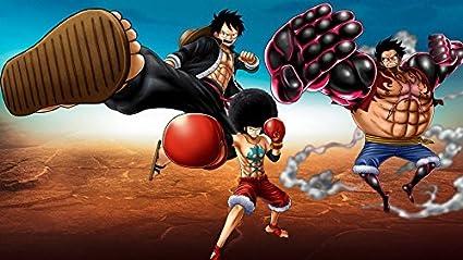 Amazoncom One Piece Monkey D Luffy Poster Gear 4new World
