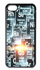 Hard Case Back Cover - Periodic Table of Elements iphone 5cC Case