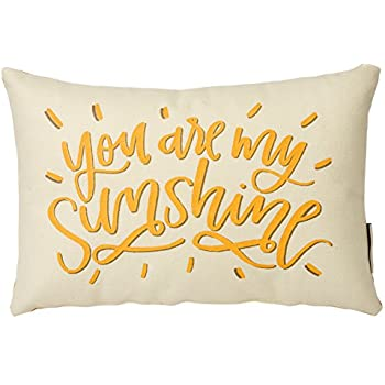 Brentwood Originals 40 You Are My Sunshine Decorative Pillow 40 Simple You Are My Sunshine Decorative Pillow