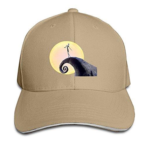 Karoda JACK's Nightmare Sandwich Hunting Peak Hat & Baseball Cap Natural