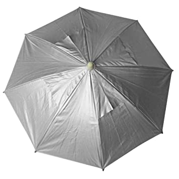 8ea99e9abdb2f Image Unavailable. Image not available for. Color  Outdoor Sports Single Foldable  Sun Umbrella Hat ...