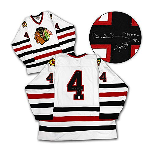 Bobby Orr Chicago Blackhawks Autographed & Dated Last Game Jersey #/144: GNR COA ()