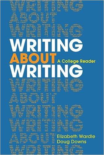 writing about writing book pdf