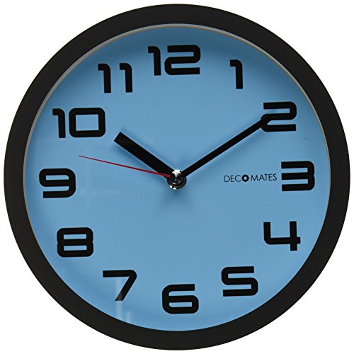 DecoMates Non Ticking Silent Clock Color product image