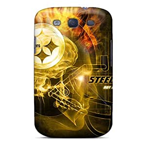 First-class Cases Covers For Galaxy S3 Dual Protection Covers Pittsburgh Steelers