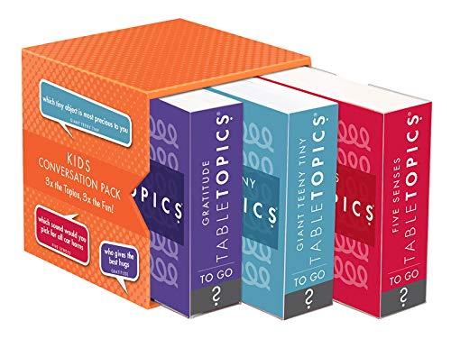 TableTopics to GO Kids Conversation Trio Orange