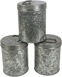 NIRMAN farmhouse Food Jars & Canisters, Storage Jars & Canisters, Food Storage Container, Storage Canister for Coffee, Tea, Cookies, Candy, Sugar (4.2