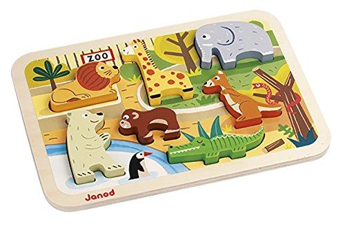(Janod Zoo Chunky Puzzle)