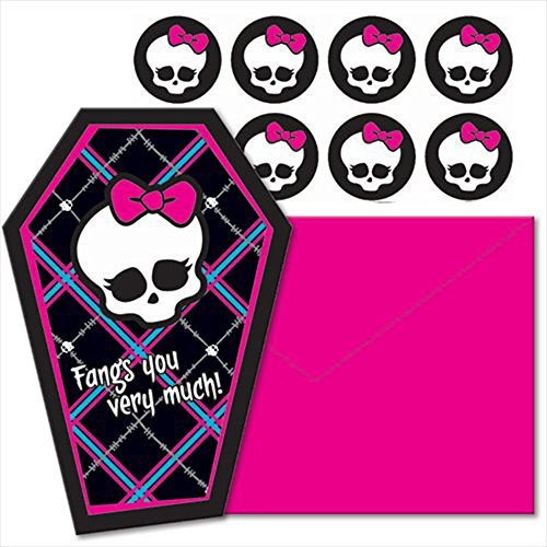 Monster High Thank You Notes w/ Env. (8ct)