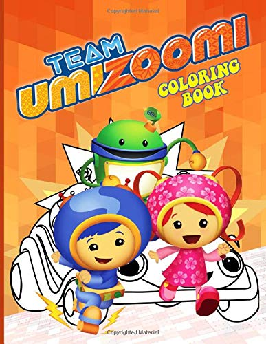 Team Umizoomi Coloring Book Team Umizoomi Color Wonder Adult Coloring Books For Men And Women With Exclusive Images Gallagher Coby 9798634213132 Amazon Com Books