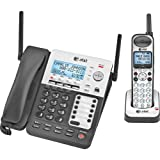 SynJ SB67138 4-Line Corded/Cordless Small Business System