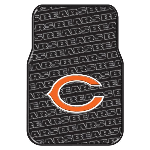 The Northwest Company Officially Licensed NFL Chicago Bears Two-Pack Front Car Floor Mat by The Northwest Company