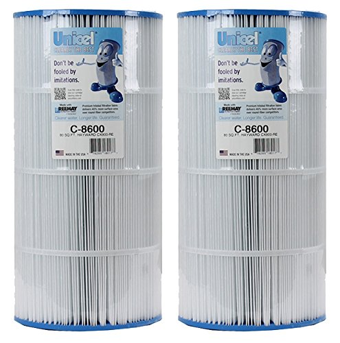 Unicel 2 C-8600 Filter Cartridges Hayward Star Clear II C800 C1500 CX800RE PA80