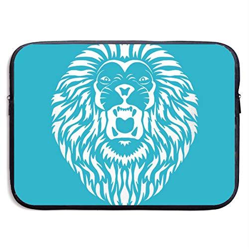 Big Sean Lion King Head Roar 22 13-15 Inch Laptop Sleeve Bag Portable Dual Zipper Case Cover Pouch Holder Pocket Tablet Bag,Water Resistant,Black